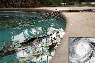 Do you know how to Prepare Your Pool for a Hurricane?