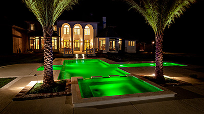 Emerald Pool Lighting